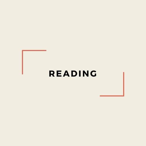 By My Pen: Reading