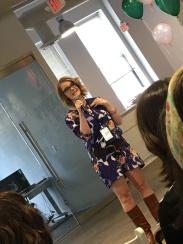 Sarah Von Bargen discussing how to define your own success
