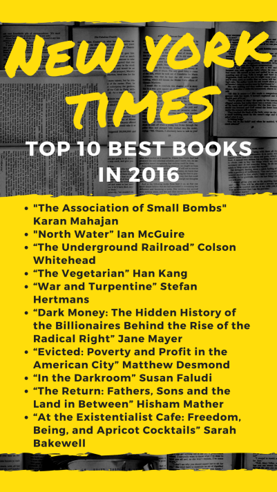 New York Times Top 10 2016