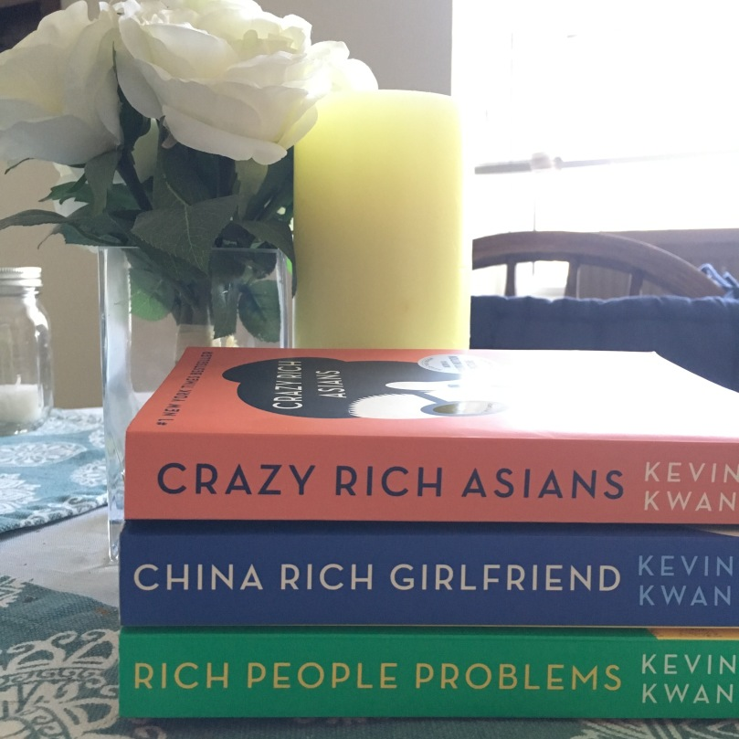 Crazy Rich Asian series by Kevin Kuan