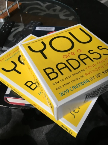 You are a Badass. Book and calednar