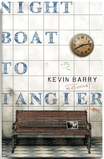 Night Boat to Tangier by Kevin Barry image courtesy of New York Times